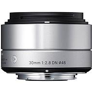 Sigma 30 mm F2,8 DN ART Silber - für Olympus - Objektiv