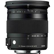 Sigma 17-70 mm F2.8-4 DC MACRO OS HSM für Nikon (Contemporary) - Objektiv