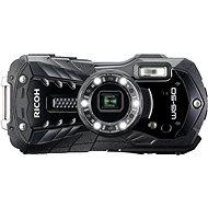 RICOH WG-50 schwarz + Schwimmschlinge + Neoprentasche - Digitalkamera