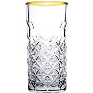 PASABAHCE TIMELESS GOLDEN TOUCH Longdrink, 295 ml - Glas-Set