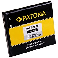 PATONA für Sony Ericsson BA800 1750mAh 3,7V Li-Ion - Handy-Akku