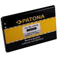 PATONA Handy-Akku für LG D855 3000mAh 3,8V Li-Ion BL-53YH - Handy-Akku