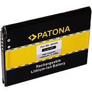 PATONA Handy-Akku für LG D280 1400mAh 3,8 V Li-Ion BL-52UH - Handy-Akku