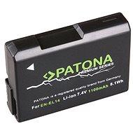 PATONA für Nikon EN-EL14 - Kamera Batterien