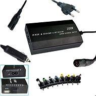 PATONA für NTB / 100W bis 240V / 12V-24V / USB / 8 Anschlüsse / Universal / fürs Netz und Auto - Netzadapter