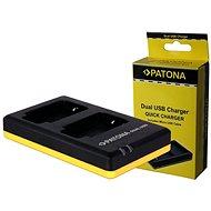 PATONA Dual Schnell Panasonic DMW-BCM13 - Ladegerät