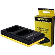 PATONA Foto Dual Quick Sony NP-FM500H - Ladegerät