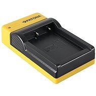 PATONA Foto Panasonic DMW-BCF10E schlank, USB - Batterie-Ladegerät