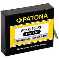 PATONA für Insta 360 One X 1150 mAh Li-Ion 3,8 V - Videokamera-Akku