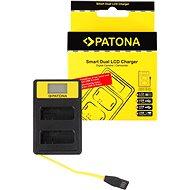 PATONA für Dual Nikon EN-EL14 mit LCD - USB - Akku-Ladegerät