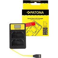PATONA für Dual Nikon EN-EL15 mit LCD - USB - Akku-Ladegerät