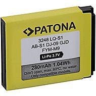 PATONA Akku für DZ09, QW09, W8, A1, V8, X6 - 280 mAh - LQ-S1 - Smartwatch-Batterie