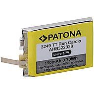 PATONA Akku für TomTom Runner Cardio - 190 mAh Golfer 1 / Multisport - Smartwatch-Batterie