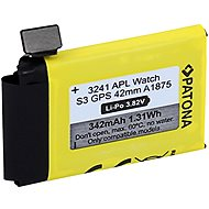 PATONA Batterie für Apple Watch 3 GPS 342 mAh A1875 42 mm - Smartwatch-Batterie