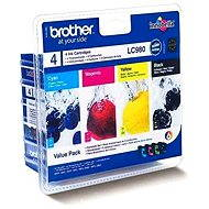 Brother LC-980 Value Pack - Cartridge-Set