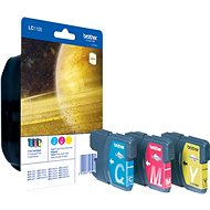 Brother LC-1100-Rainbow-Pack - Tintenpatronen-Set