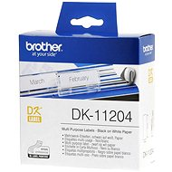 Brother DK-11204 - Papieretiketten