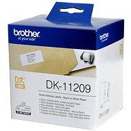 Brother DK-11209 - Papieretiketten