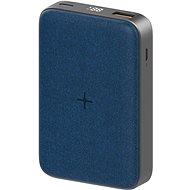 Eloop EW35 10000 mAh Wireless + PD (18 W +) Blau - Powerbank