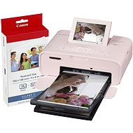 Canon SELPHY CP1300 Pink + Papiere KP-36 - Sublimationsdrucker