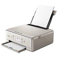 Canon PIXMA TS6052 grau + Papier PP-201 10x15cm 50pcs - Tintenstrahldrucker