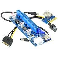 ANPIX ver009s Reduktion (PCIE-Version) PCIe x1 zu PCIe x16 - Adapter