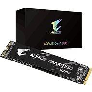 GIGABYTE AORUS Gen 4 SSD 500GB - SSD Festplatte