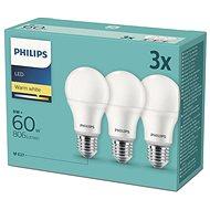Philips LED 9-60W, E27 2700K, 3-tlg - LED-Lampe