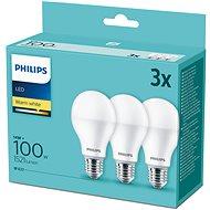 Philips LED 14-100 W, E27 2700 K, 3-tlg - LED-Lampe