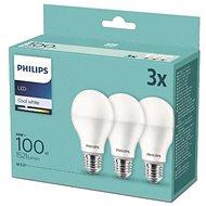 Philips LED 14-100 W, E27 4000 K, 3-tlg - LED-Glühbirne