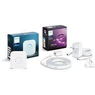 Philips Hue LightStrip Plus v4 + Philips Hue Bridge 2.0, Apple Homekit kompatibel - Smart Lighting-Set