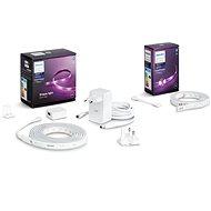 Philips Hue LightStrip Plus v4 + Philips Hue LightStrip Plus v4 Extension - Smart Lighting-Set
