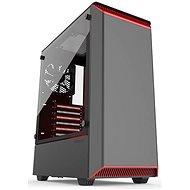 Phanteks Eclipse P300 Tempered schwarz und rot - PC-Gehäuse