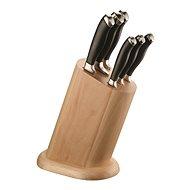 Pintinox Messerblock mit 6 Messern W/WOODEN BLOCK - Messer-Set