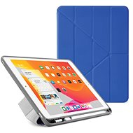 "Pipetto Origami Pencil Case für Apple iPad 10.2"" (2019) - Königsblau - Tablet-Hülle"