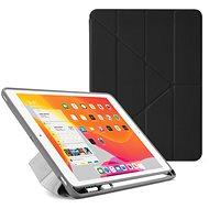 "Pipetto Origami Pencil Case für Apple iPad 10.2"" (2019) - Schwarz - Tablet-Hülle"