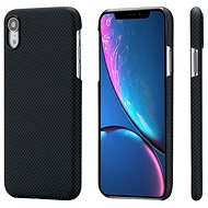 Pitaka Aramid Case Black/Grey Plain iPhone XR - Silikon-Schutzhülle