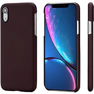 Pitaka Aramid Case Black/Red Plain iPhone XR - Silikonetui