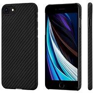 Pitaka MagEZ Hülle Schwarz / Grau iPhone SE 2020 - Handyhülle