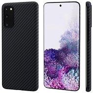 Pitaka MagEZ Hülle Schwarz / Grau Samsung Galaxy S20 - Handyhülle