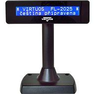 Virtuos LCD FL-2025MB 2x20 Schwarz - Kundendisplay