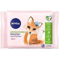 NIVEA Reinigungs-Mizellar-Tücher 3in1 25 St - Abschminktücher