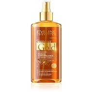 Selbstbräunungsemulsion EVELINE COSMETICS Summer Gold Selbstbräuner Gesicht & Körper Dunkle Haut 150 ml - Selbstbräunungsemulsion