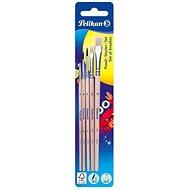 Pelikan Pinsel-Starter-Set - Borstenpinsel + Haarpinsel - 5 Stück - Pinsel