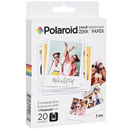 "Polaroid Zink 3x4"" 20St - Fotopapier"