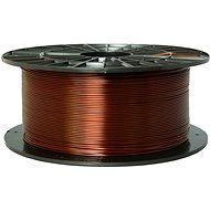PLASTY MLADEČ 1,75mm PETG 1kg transparent braun - Drucker-Filament