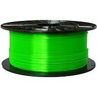 PLASTY MLADEČ 1.75mm PETG 1kg Grün transparent - Drucker-Filament