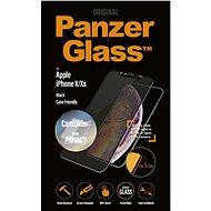 PanzerGlass Edge-to-Edge Privacy für Apple iPhone X/XS schwarz mit CamSlider