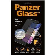 PanzerGlass Edge-to-Edge Privacy für Apple iPhone XR / 11 Black mit CamSlider