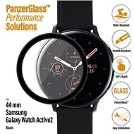 PanzerGlass SmartWatch für Samsung Galaxy Watch Active 2 (44 mm), schwarzer Klebstoff - Schutzglas